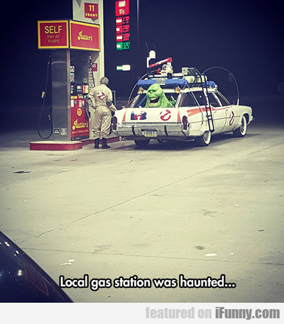 Local Gas Station Was Haunted...