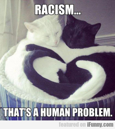 Racism? That's A Human Problem.