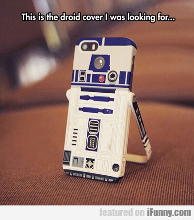 This Is The Droid Cover I Was Looking For...