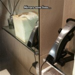 Mirrors Save Lives...