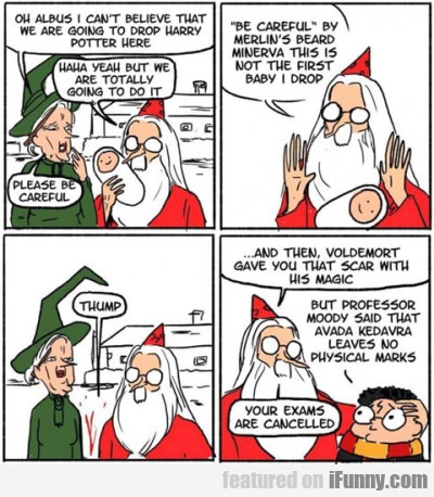 Oh, Albus, I Can't Believe That...