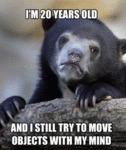 I'm 20 Years Old...