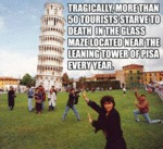 Tragically, More Than 50 Tourists...