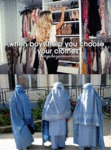 When Boys Help You Choose Your Clothes...