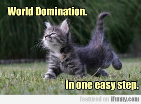 world domination in one easy step