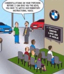 Bmw Dealer: Congratulations On Your Purchase
