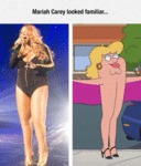 Mariah Carey Looked Familiar...