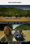 How To Spot The Equator...