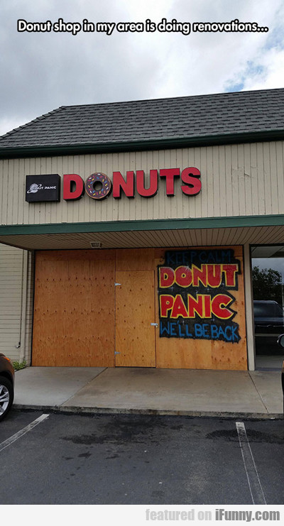 Donut Shop In My Area...