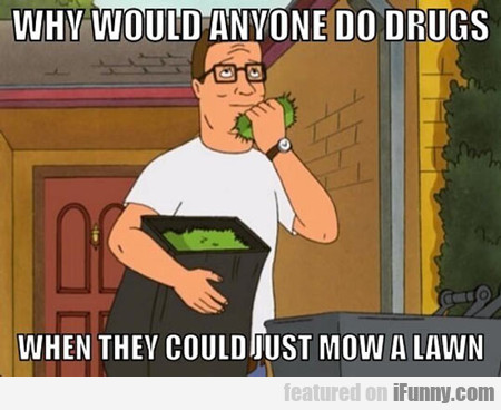 Why Would Anyone Do Drugs?