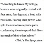 According To Greek Mythlogy