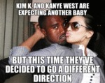 Kim K. And Kanye West...