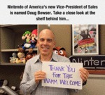 Nintendo Of America's New Vice President...