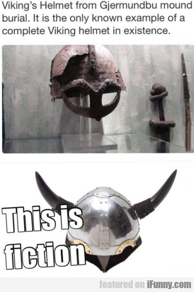 Viking's Helmet From