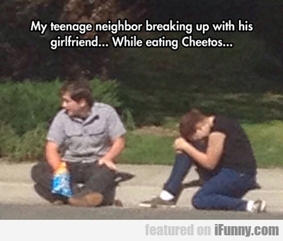 My Teenage Neighbor...