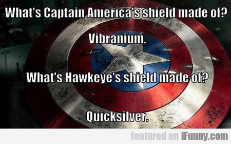 What's Captain America's Shield Made Of?