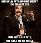 Never Play With A Woman's Heart...