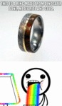 This Is A Ring Made From Dinosaur Bone...