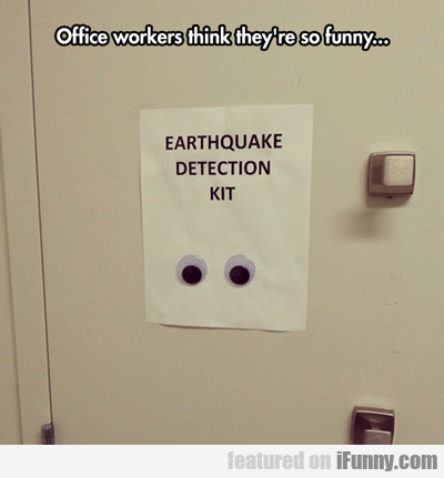 Office Workers Think They're So Funny...