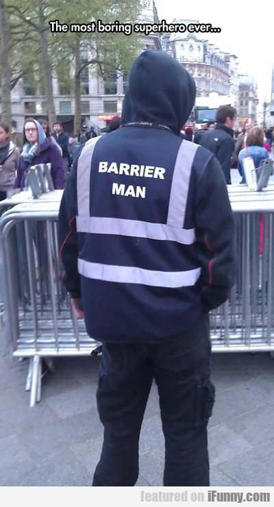 The Most Boring Superhero Ever...