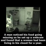 A Man Noticed His Food Going Missing...