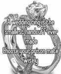 A Wedding Ring Is The Smallest