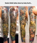 Studio Ghibli Tattoo...