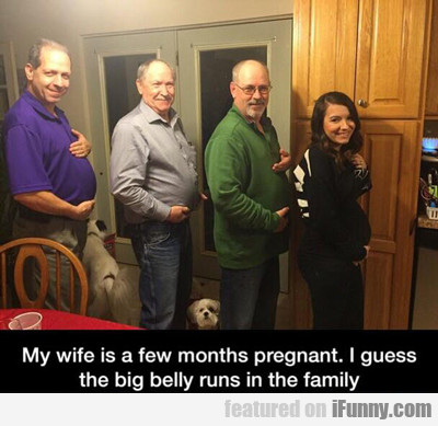 My Wife Is A Few Months Pregnant...