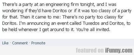 theres a party at an engineering