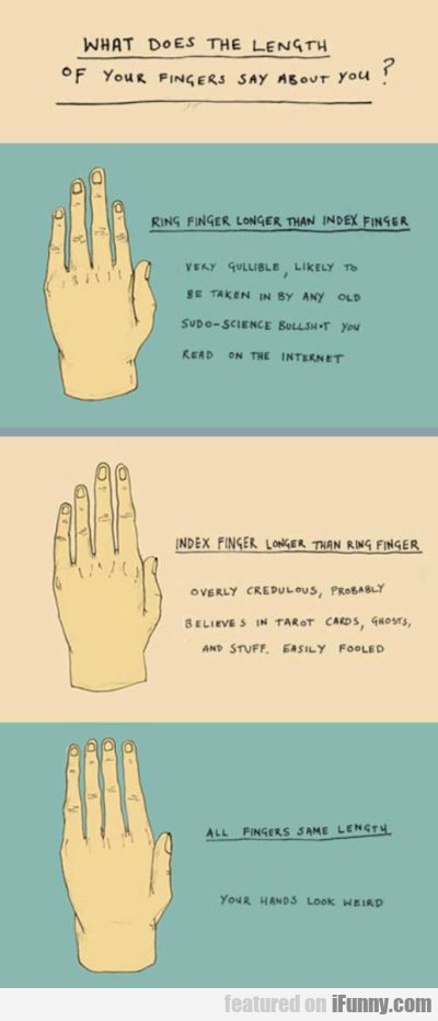 What Does The Lenght Of Your Fingers