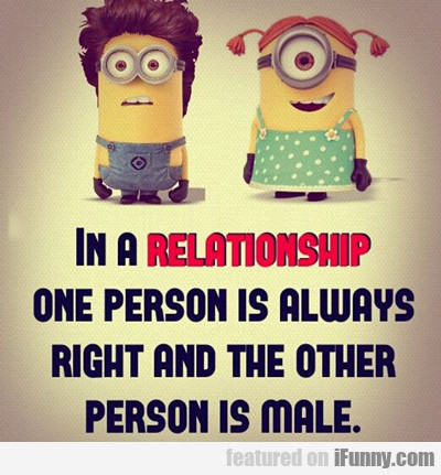 in a relationshop...