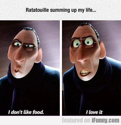 Rataouille Summing Up My Life...