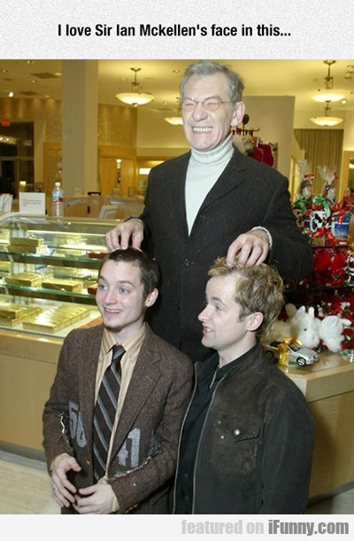 I Love Sir Ian Mckellen's Face...