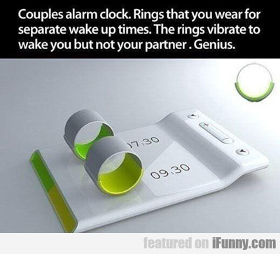 Couples Alarm Clock...