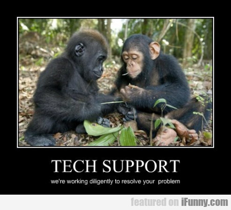tech support we re working
