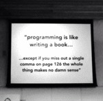 Programming Is Like Writing A Book...