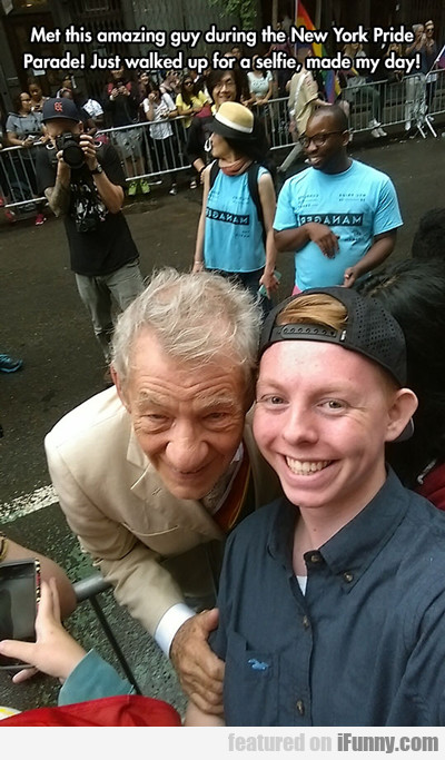 Met This Amazing Guy...