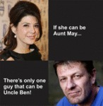 If She Can Be Aunt May...