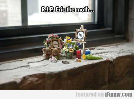 Rip Eric The Moth