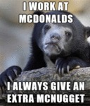 I Work At Mcdonald's...