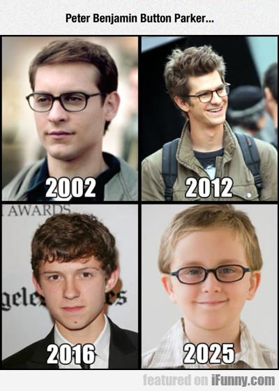 Peter Benjamin Button Parker...
