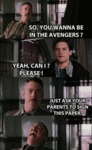 So, You Wanna Be In The Avengers...