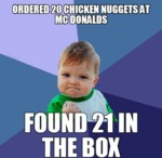 Ordered 20 Chicken Nuggets...