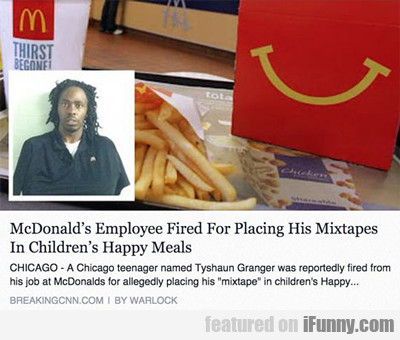Mcdonald's Employee Fired...