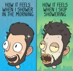 How It Feels When I Shower In Th Morning