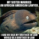 My Sister Married An African American...