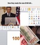 How They Made The New $100 Bill...