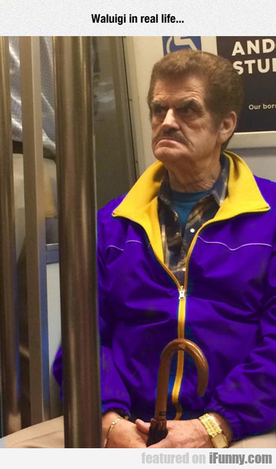 Waluigi In Real Life...