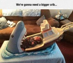 We're Going To Need A Bigger Crib...