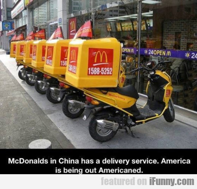 Mcdonald's In China...